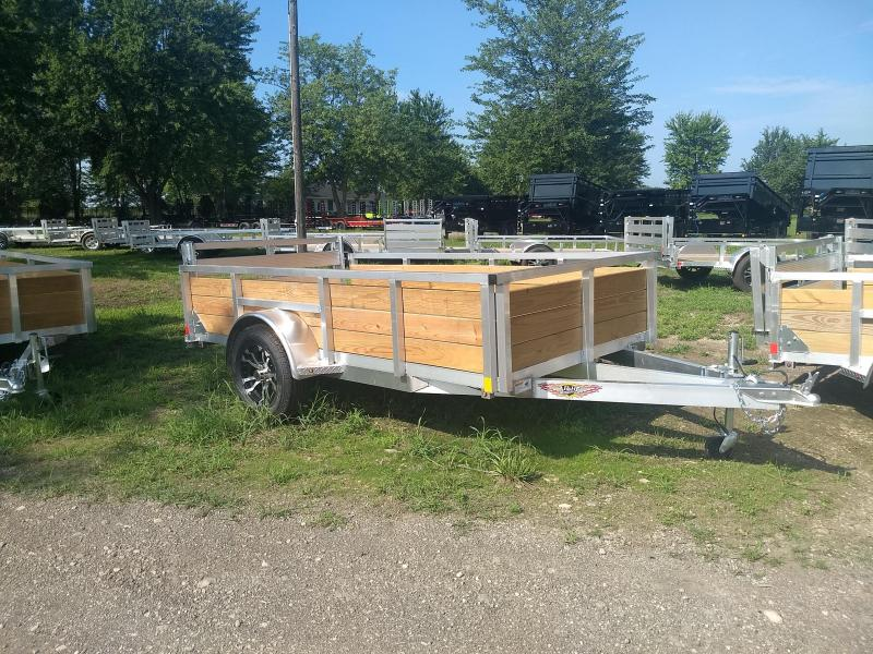 2018 H and H Trailer 5.5(66)X10 WOOD-SIDE ALUM 3K