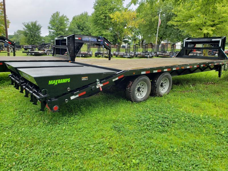 25' Deckover 14K Gooseneck Equipment Trailer Load Trail Michigan's #1 selling brand of trailer