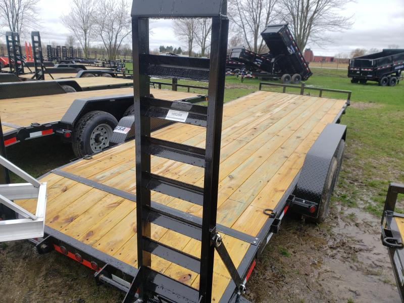 New 22' 10K Load Trail Equipment Trailer W/ Flip Up Ramps