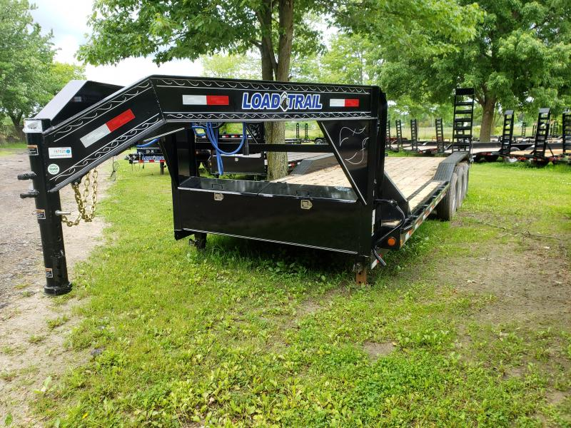 New 102 X 24 Goose Neck Equipment Trailer