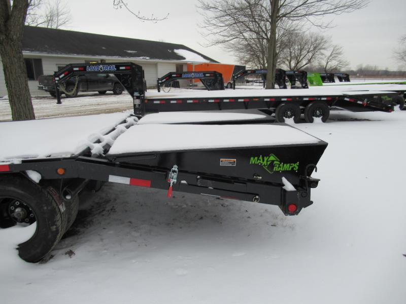 25' Low Profile Deckover 22K Gooseneck Equipment Trailer Load Trail Michigan's #1 selling brand of trailer