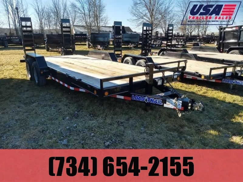 2018 Load Trail 83x20 14K Equipment Trailer W/Rub Rail