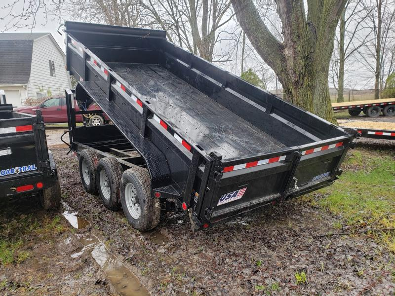 New 16' Goose neck Triple Axle Dump Trailer Michigan's #1 selling brand of trailer