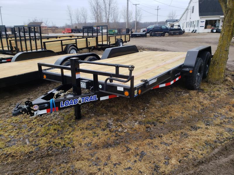 "Load Trail 16"" 14K Car Hauler Trailer Michigan #1 Selling Brand Of Trailers"