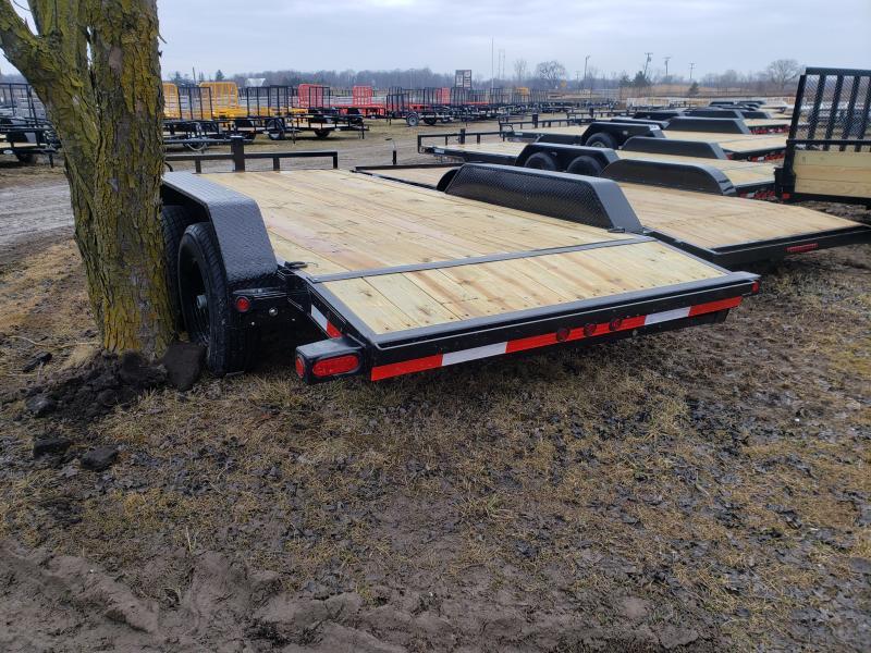 """Load Trail 16"""" 14K Car Hauler Trailer Michigan #1 Selling Brand Of Trailers"""