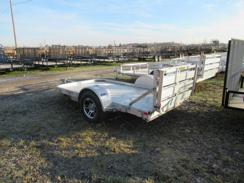 New Old Stock 5X10 Flatbed Landscape Motorcycle Trailer