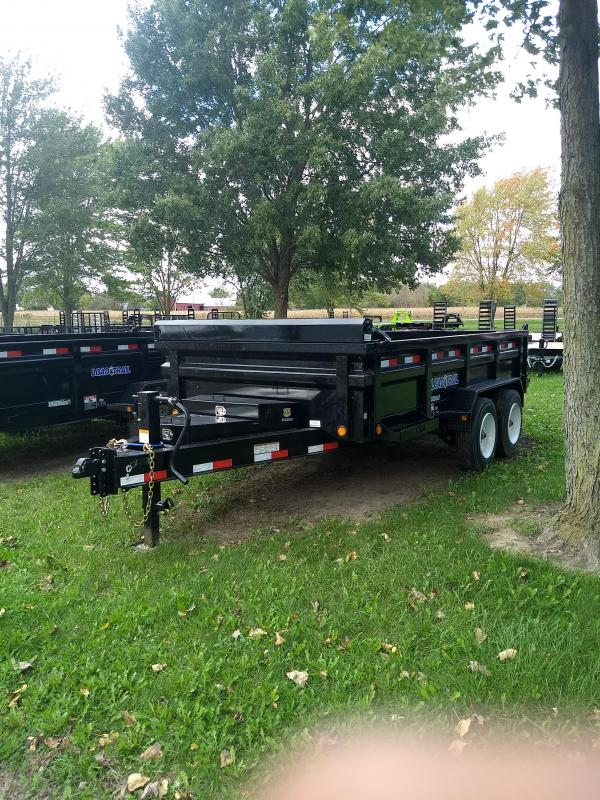 "Load Trail 83"" X 14' Dump Trailer The Bench Mark Of Quality"