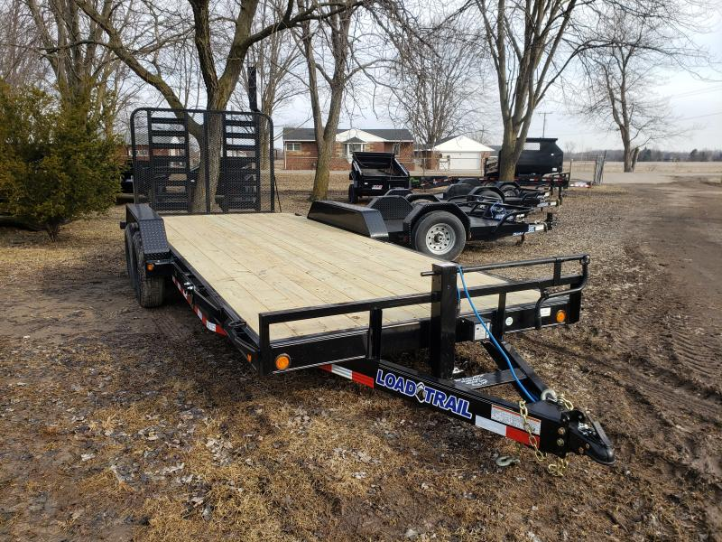 2019 Load Trail 20' 14K Equipment Trailer W/ Rear Drop Gate