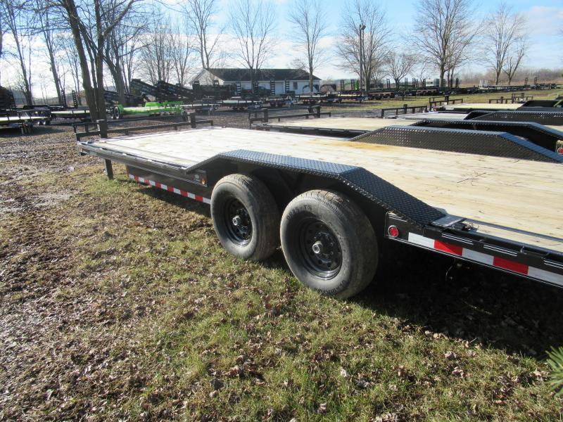 New 102X24 14K Load Trail Carhauler With Drive Over Fenders