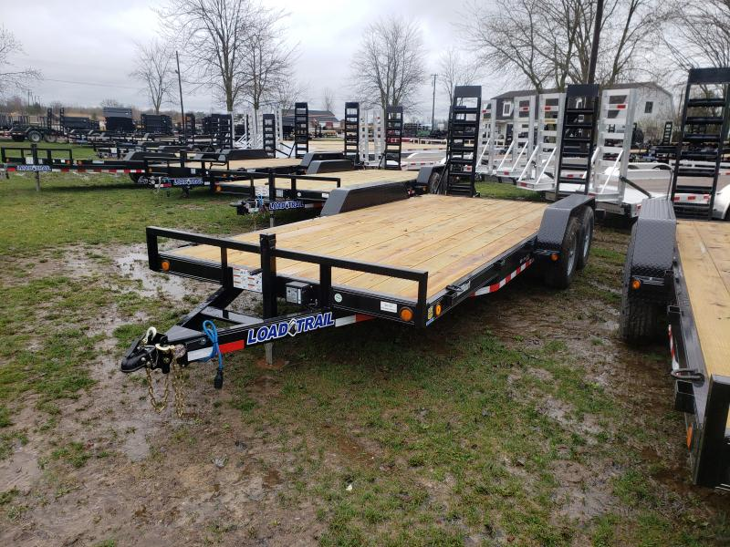 New 18' 10K Load Trail Carhauler Trailer Michigan's #1 Selling Brand Of Trailers