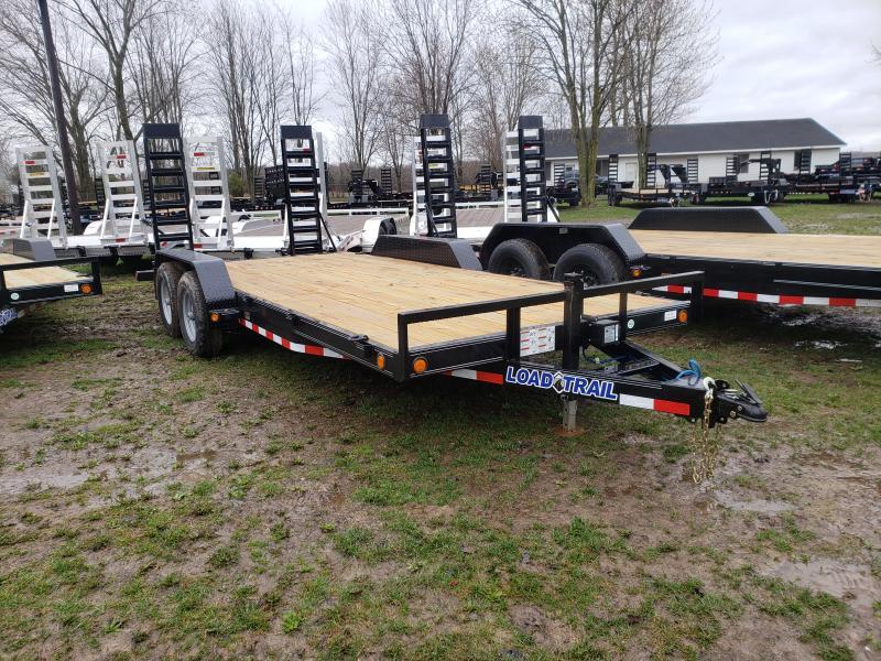 New 18' 10K Load Trail Carhauler Trailer Michigan's #1 Selling Brand Of Trailers