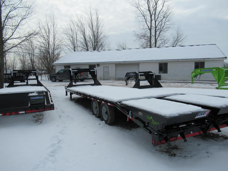28' Deckover 14K Gooseneck Equipment Trailer Load Trail Michigan's #1 selling brand of trailer