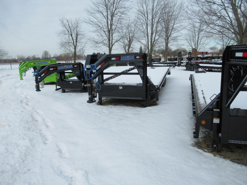 28' Deckover 14K Gooseneck Equipment Trailer Load Trail Michigan's #1 selling brand of trailer
