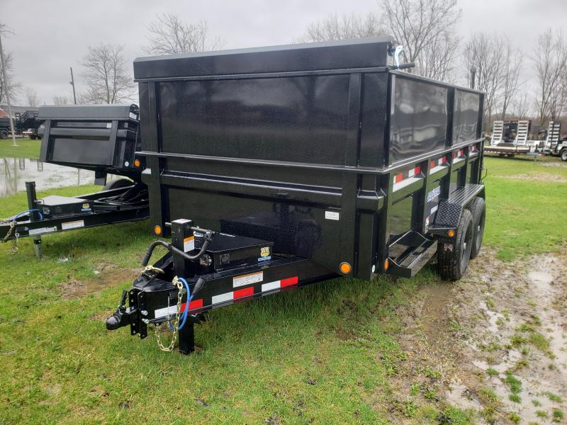 "Load Trail 83"" X 14' 14K Dump Trailer Deluxe Model W/ 2' Side Extension"