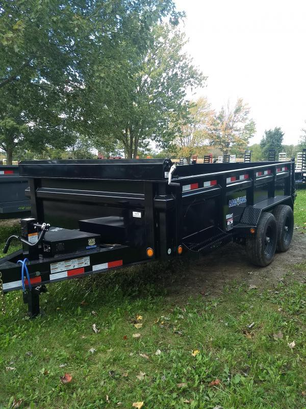 """Load Trail 83"""" X 14' Dump Trailer The Bench Mark Of Quality"""