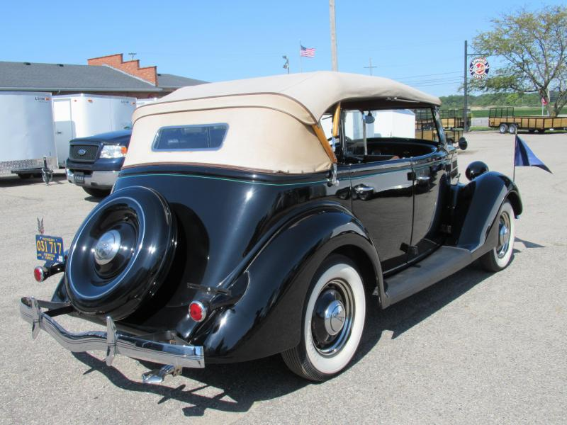 1936 Ford Deluxe Phaeton Convertible