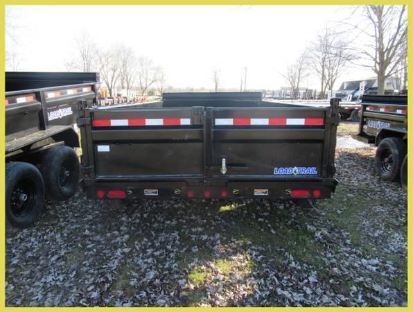 """Load Trail 83"""" X 14' 14K Dump Trailer Deluxe Model in Ashburn, VA"""
