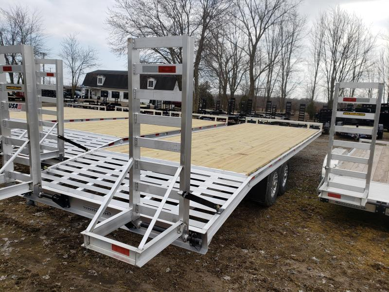 New 28' 14K Aluminum Deckover By H&H