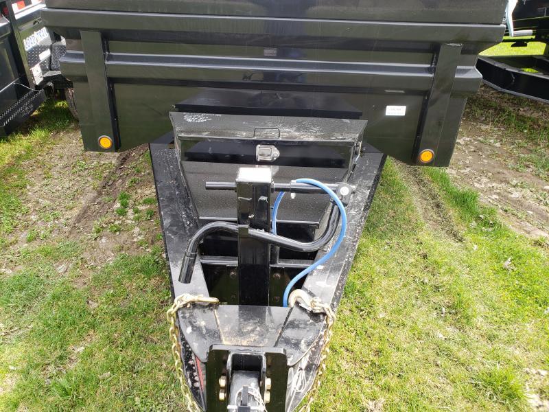 New 14' 14K Dump Trailer W/Drop Axles Supreme Model