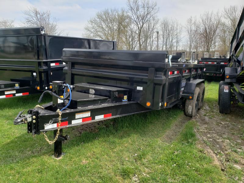 New 14' 14K Dump Trailer W/Drop Axles Supreme Model