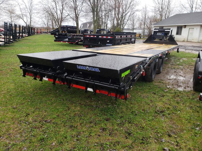 32' Low Profile Deckover 22K Gooseneck Equipment Trailer Load Trail Michigan's #1 selling brand of trailer