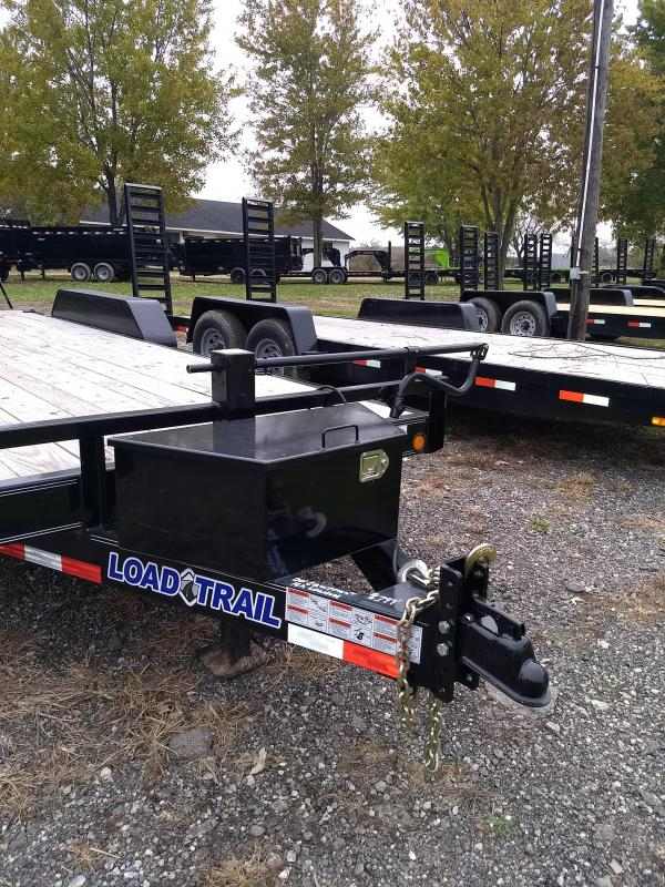 2017 Load Trail 80x20 16K Equipment Trailer Loaded