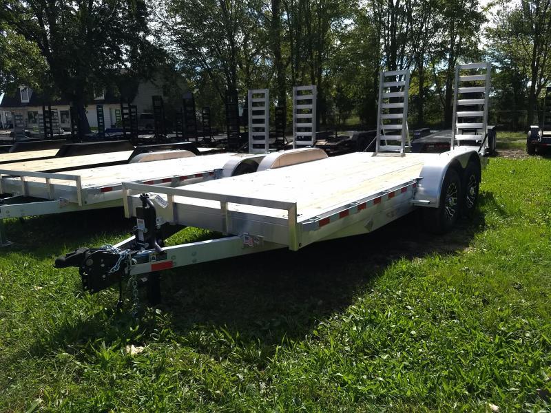 New 18' 14K H&H Aluminum Equipment Trailer Get Your Today. in Ashburn, VA