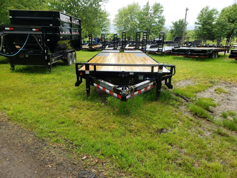 New 24' 14k Deck Over Equipment Trailer W/ Max Ramps
