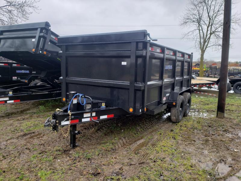 New 14' 14K Dump Trailer Deluxe Model W/ 4' Walls