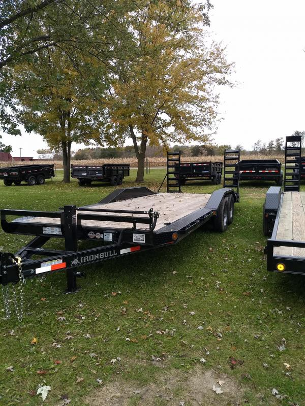 "New Iron Bull 102X22"" 14K Equipment Trailer"