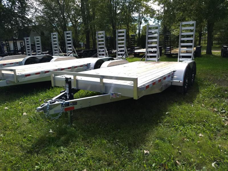 New H&H 16' 10K Aluminum Equipment Trailer With last Years Prices    in VA
