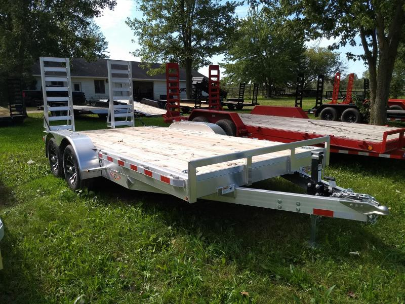 New H&H 16' 10K Aluminum Equipment Trailer With last Years Prices