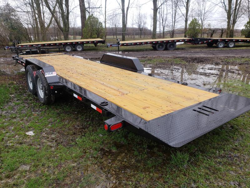 2019 Load Trail 22 power tilt Equipment Trailer