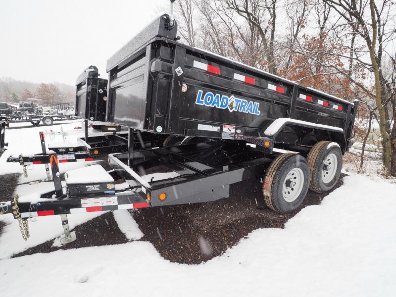 """2017 Load Trail 72"""" x 12' Tandem Axle Dump"""