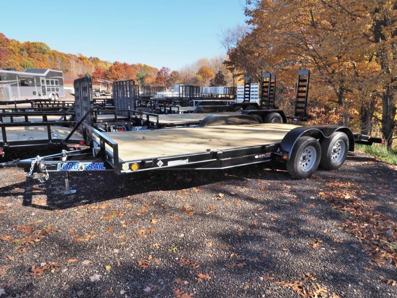 """2017 Load Trail 83"""" X 18' Tandem Axle Carhauler"""