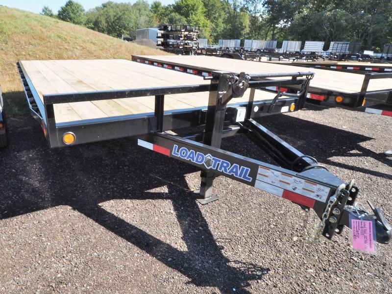 """2017 Load Trail 102"""" X 16' Deck Over Pintle Hook"""