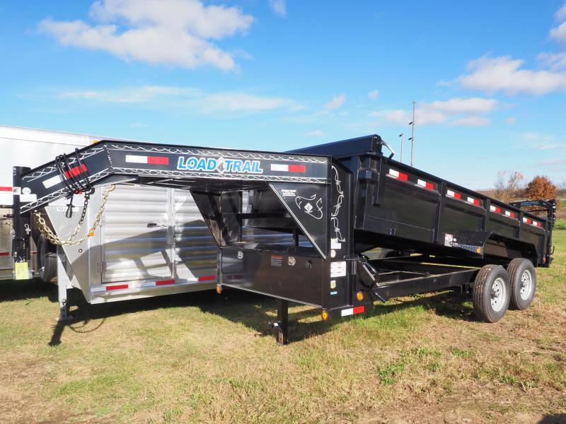 "2017 Load Trail 83"" x 16' Tandem Axle Gooseneck Dump (with scissor lift)"
