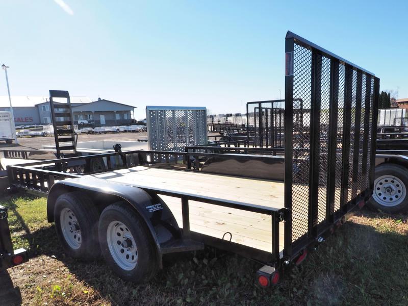 "2017 Load Trail 83"" X 14' Tandem Axle Utility Economy"