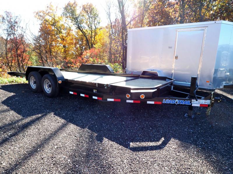 "2017 Load Trail 83"" X 20' Tandem Axle Low-Pro Tilt Deck"