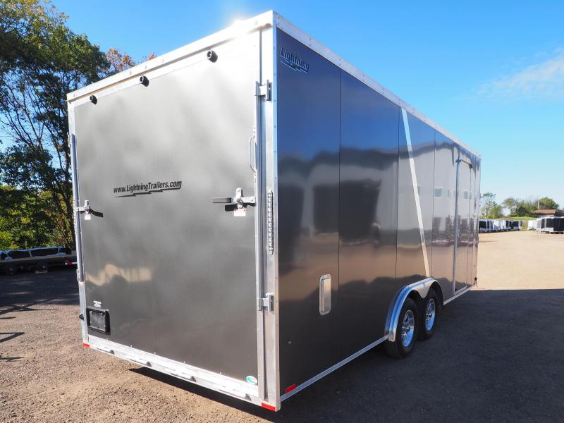 2017 Lightning Trailers LTF 8.5x20 Snowmobile Trailer