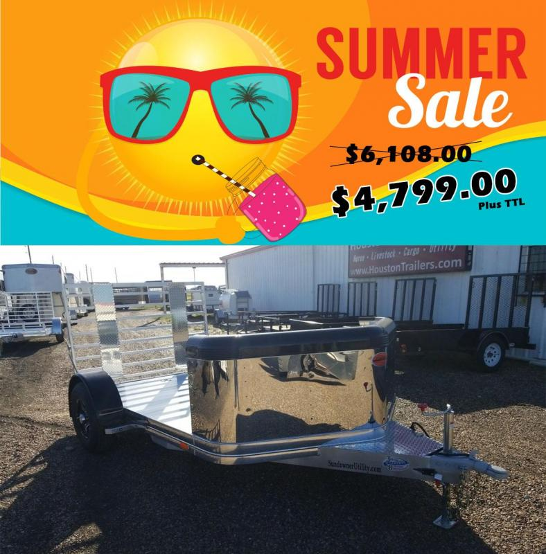 2019 Sundowner Trailers MC12 Motorcycle Trailer SD-99