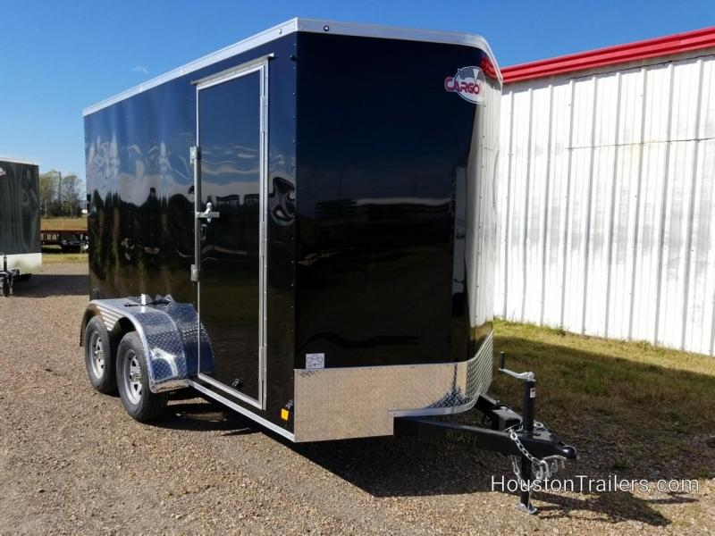 2019 Cargo Mate 12' x 6' Enclosed Cargo Trailer FR-70