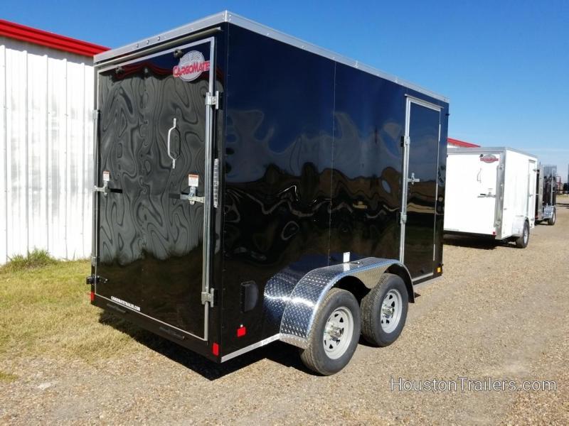 2019 Cargo Mate 12' x 6' Enclosed Cargo Trailer FR-70