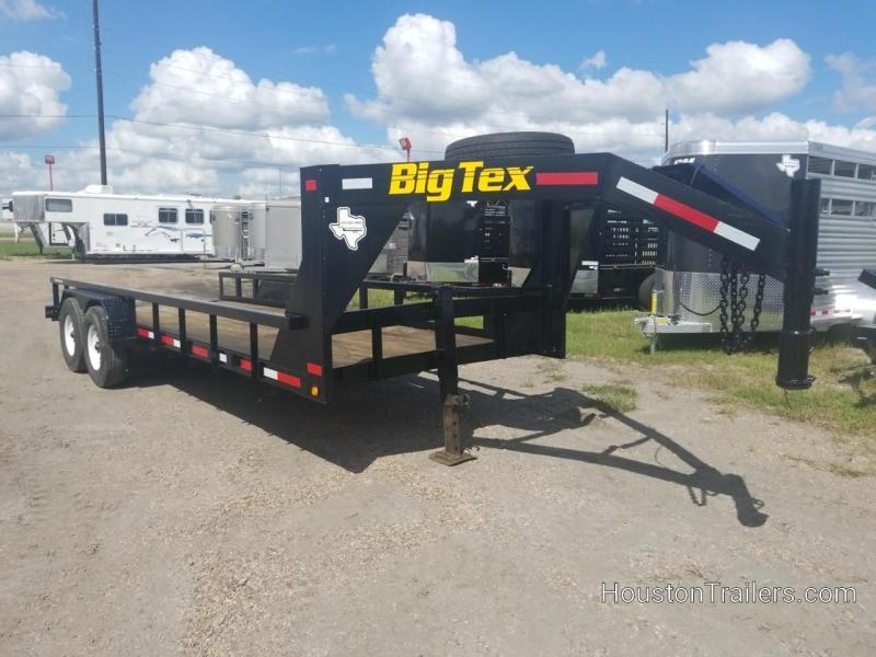 Rental Big Tex Trailers 20' Low Boy Equipment Trailer 8065-Rental