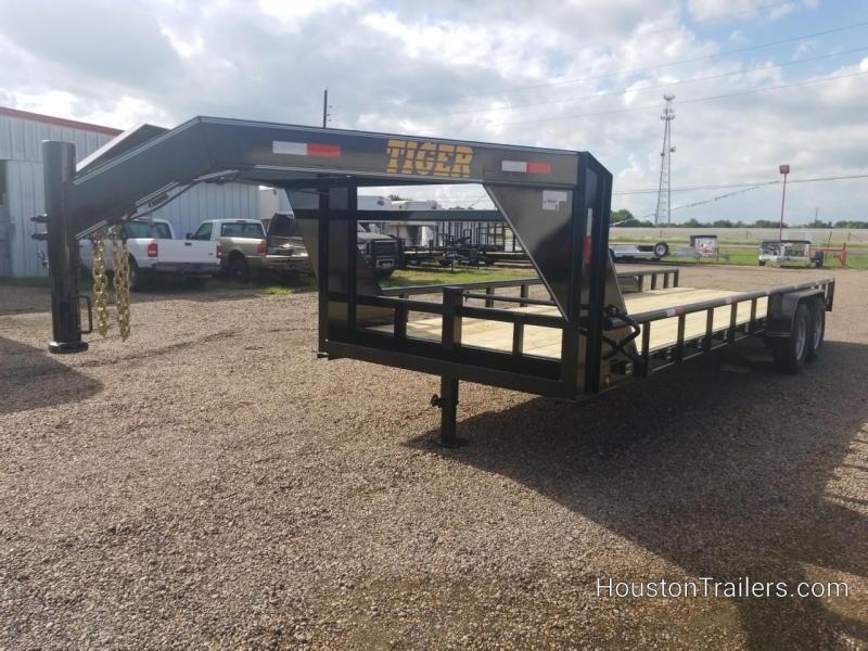 2018 Tiger 24' Lowboy Equipment Trailer TI-26