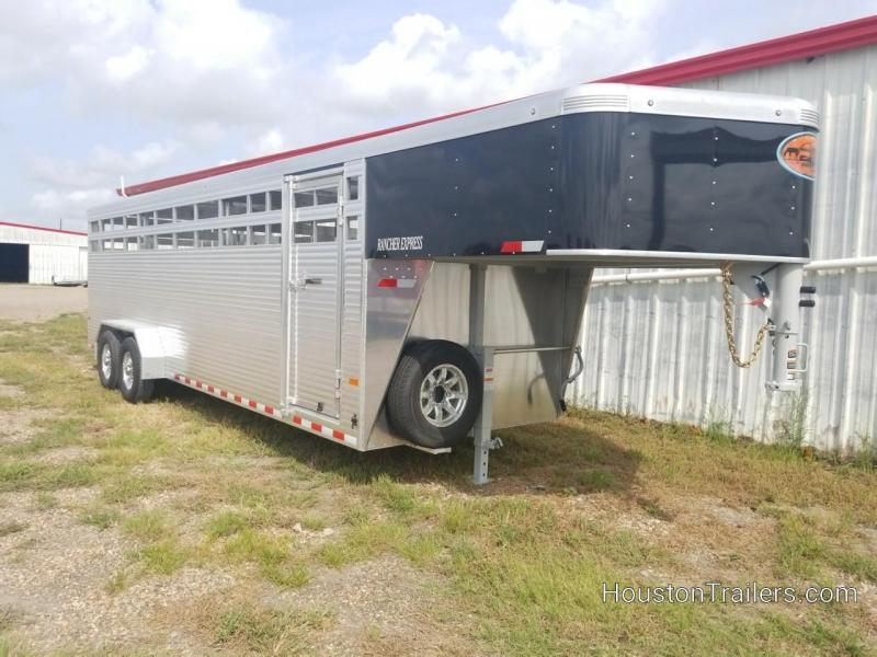 2019 Sundowner Trailers RANCHER 24 GN Livestock Trailer SD-93