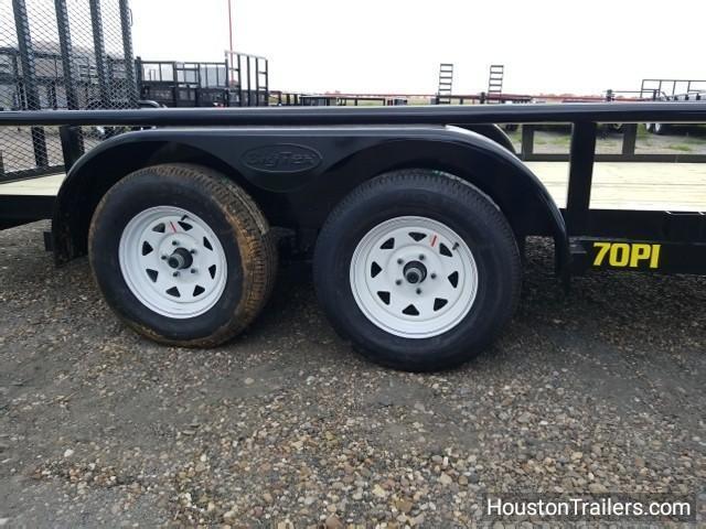 "2018 Big Tex Trailers 70PI-X 16' x 83"" Utility Trailer BX-107"