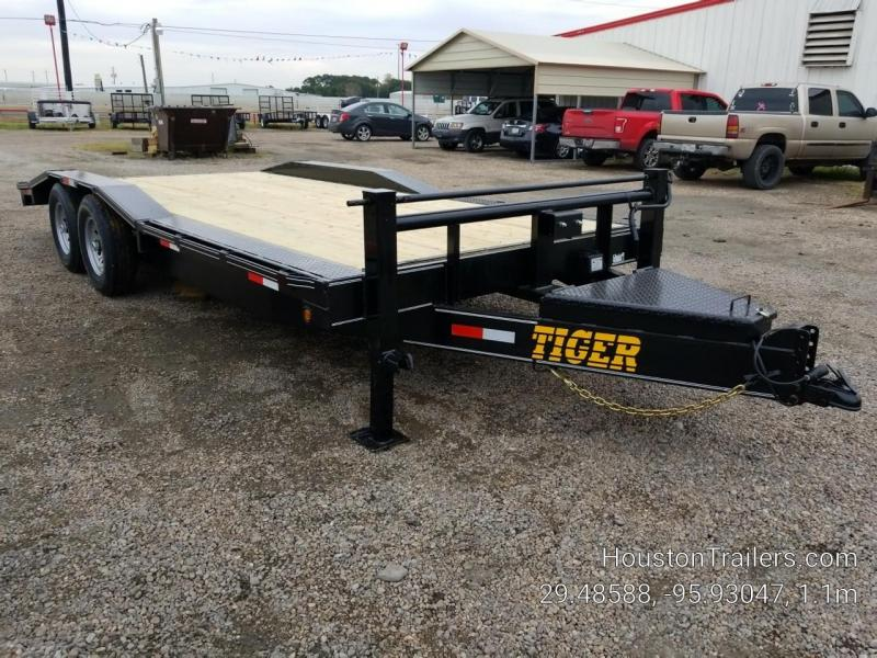 2019 Tiger 20' Over fenders Equipment Trailer TI-40