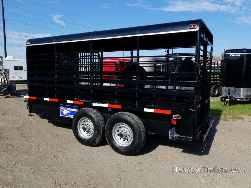 2009 Gooseneck 16' BP Stock Livestock Trailer CO-1053