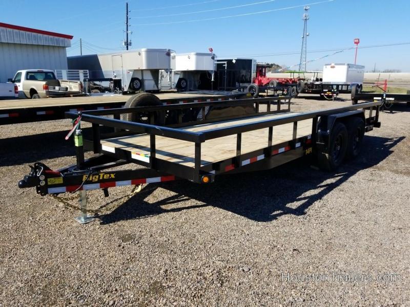 2019 Big Tex Trailers 20' x 7' 14PI HD Utility Trailer BX-163